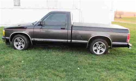 old car owners manuals 1996 chevrolet s10 spare parts catalogs buy used custom 91 s10 with 41k actual miles 5 speed manual original 4 cylinder engine in