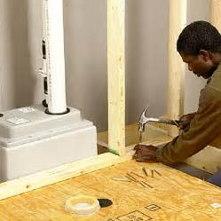 Basement Floor Drain Backflow Valve by Installing An Upflush Toilet Utility Rooms Amp Basements