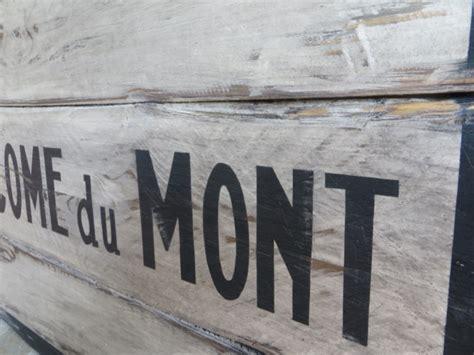 vinsign st come du mont ste du mont vintage sign vintage naambord houten sign bar