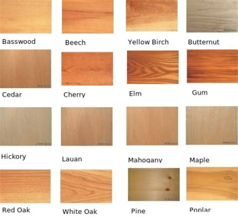 types of wood oh you wood crosby designs
