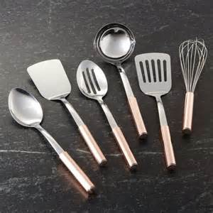 new kitchen gift ideas utensils with copper handles crate and barrel