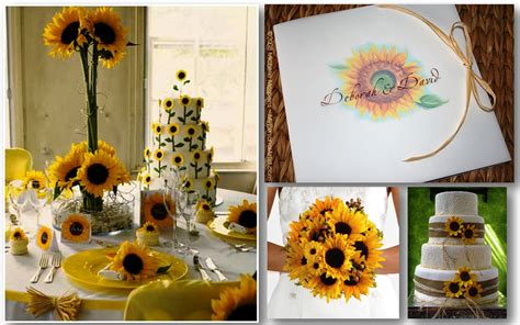 Wedding Ideas For Summer : Summer Wedding Theme Ideas Leading To Beautiful Sunflowers