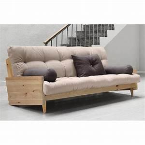 Canapé But Convertible : canap s futon canap s et convertibles canap 3 4 places convertible indie style scandinave ~ Teatrodelosmanantiales.com Idées de Décoration