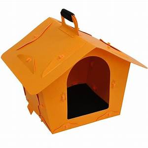 pawhut portable dog house yellow With pawhut dog house
