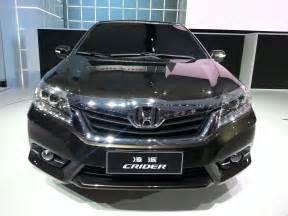Auto Shanghai 2018 Live Honda Crider Drives In