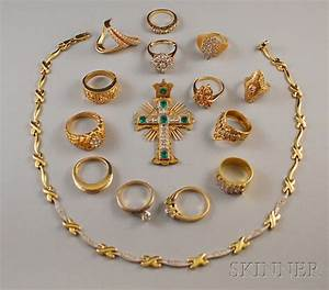 Group of Assorted Gold Jewelry | Sale Number 2611M, Lot ...