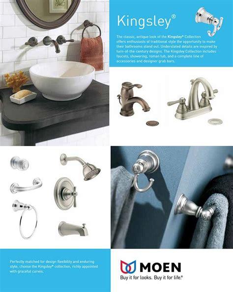 Moen Kingsley Wall Mount Bathroom Faucet by Moen Kingsley Wall Mount 2 Handle Low Arc Bathroom Faucet