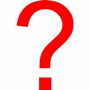 Red Question Mark - ClipArt Best