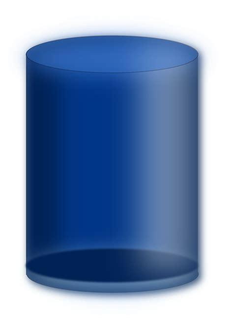 Clipart  Blue Cylinder