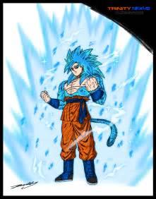 Goku Super Saiyan God 4
