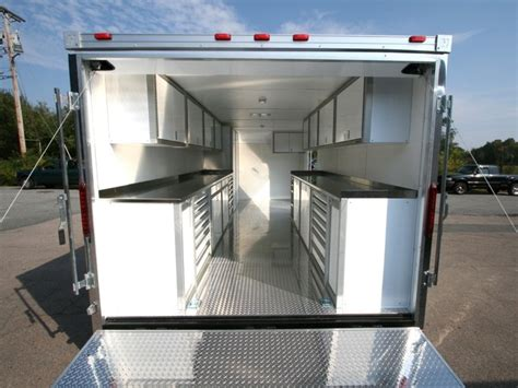 lightweight cabinets for trailers trailer cabinets aluminum mf cabinets