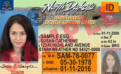 Nddot  Current Drivers License And Non Driver Id