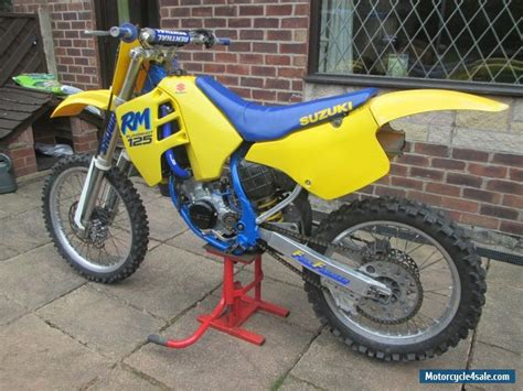 evo motocross bikes 1989 suzuki rm for sale in united kingdom