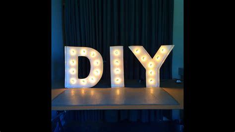 Led Lights For Room Words by Diy Letter Lights