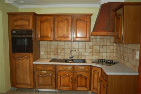 meuble cuisine chene peinture pour meuble de cuisine en chene repeindre meuble