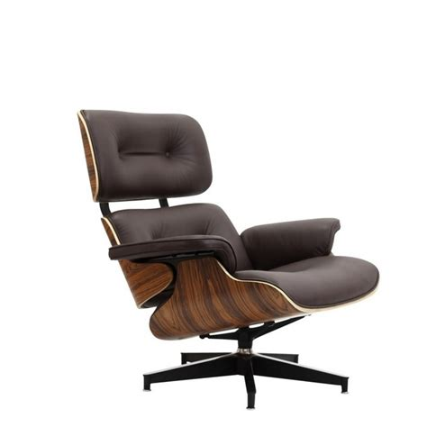 leather lounge chair with ottoman eames style lounge chair and ottoman brown leather walnut wood