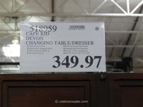 cafe kid desk costco cafe kid devon changing table