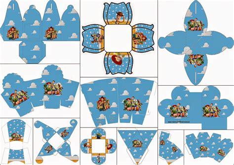 toy story   printable boxes   fiesta  english