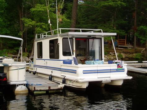 Catamaran Houseboat by Catamaran Cruiser Lil Hobo 30 1999 For Sale For 18 000
