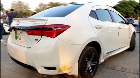 toyota corolla gli fully modified comsats lahore auto