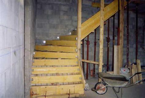 plan coffrage escalier beton espaces verts et ma 231 onnerie