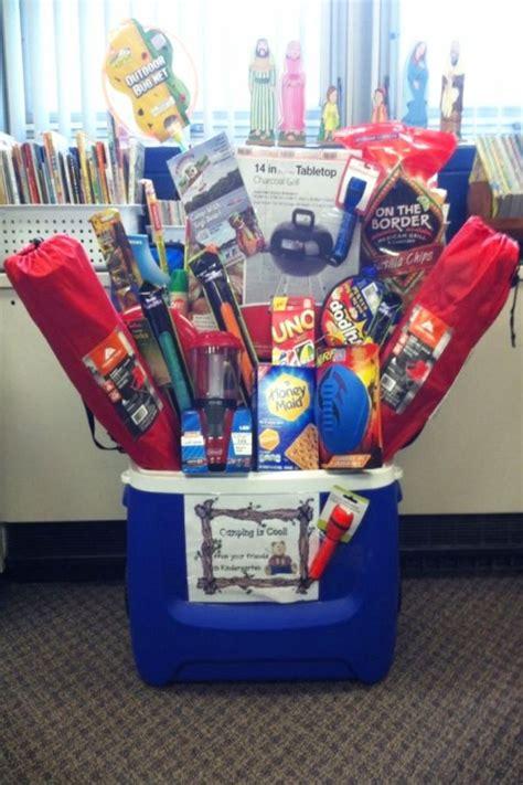 creative raffle gift basket ideas  charity school