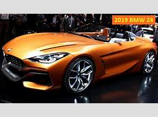 2019 BMW Z4 Concept debuts [Price, release date, Specs