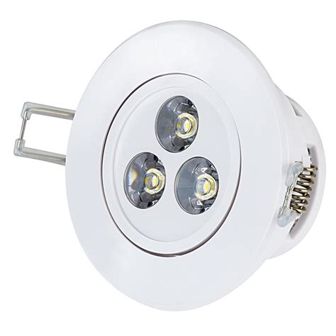 led recessed light fixture aimable 30 watt equivalent