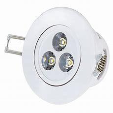 3 Watt Led Recessed Light Fixture  Aimable  200 Lumens