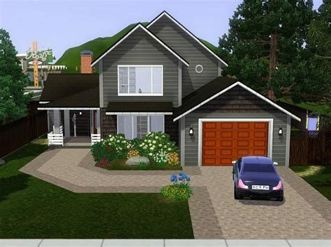 thesimblogs  great family home  lancome drive