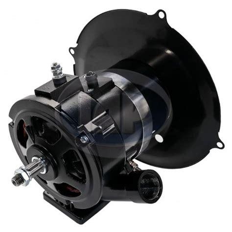 bpv black  amp alternator kit pc compatible  vw bug bus ghia sb