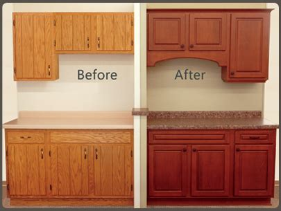 replacing kitchen cabinet doors before and after cabinet refacing recrafting sales aids and selling tools 9752