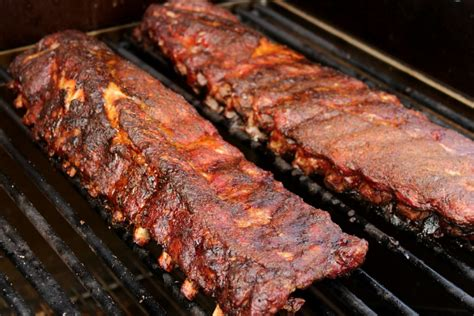 cooking ribs on grill texas bar b que ribs grilling outdoor recipes