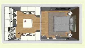 begehbarer Cabinet Kleiderschrank im Schlafzimmer, geplant