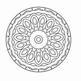 Kaleidoscope Coloring Mandala Pages Books Printable Q4 Coloringpages sketch template