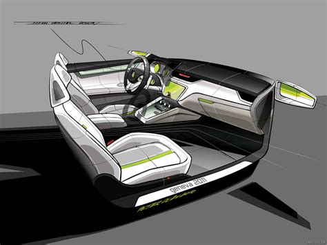 Skoda Visiond Design Concept Design Sketch Wallpaper 70