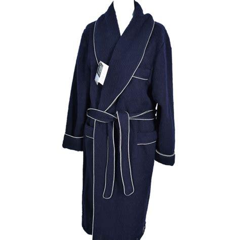 robe de chambre des pyr駭馥s robe de chambre homme des pyrenees marine en stock