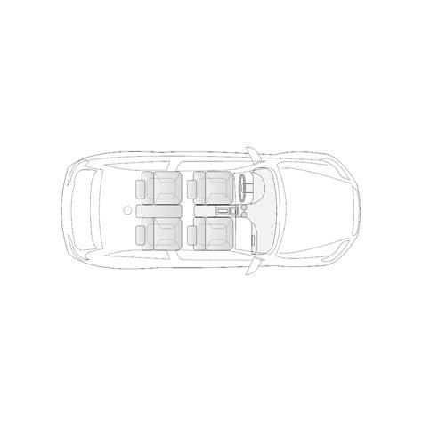 Vehicle Diagram Door Compact Car
