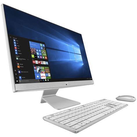 ordinateur de bureau blanc asus vivo aio v241icuk wa002t blanc pc de bureau asus