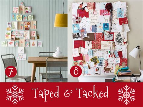 how to display cards at home 15 ways to display your christmas cards
