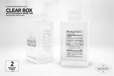kraft  box mockup  mockups psd template