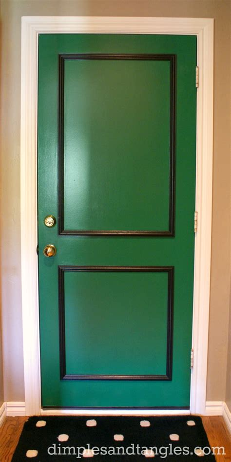a back door my paint color dimples and