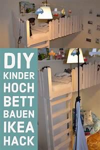 Hochbett Kinder Selber Bauen : die besten 25 hochbett selber bauen ideen auf pinterest selbst bauen hochbett hochbett bauen ~ Indierocktalk.com Haus und Dekorationen