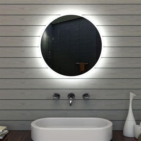 Runder Badezimmer Spiegelschrank by Badezimmerspiegel Badspiegel Wandspiegel Led Beleuchtung