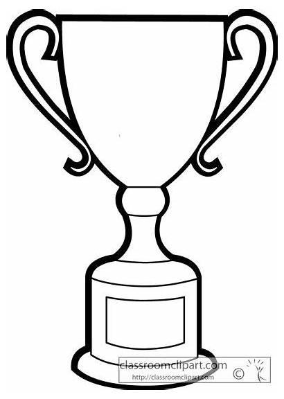 Trophy Clipart Clip Place Google Think Coloring