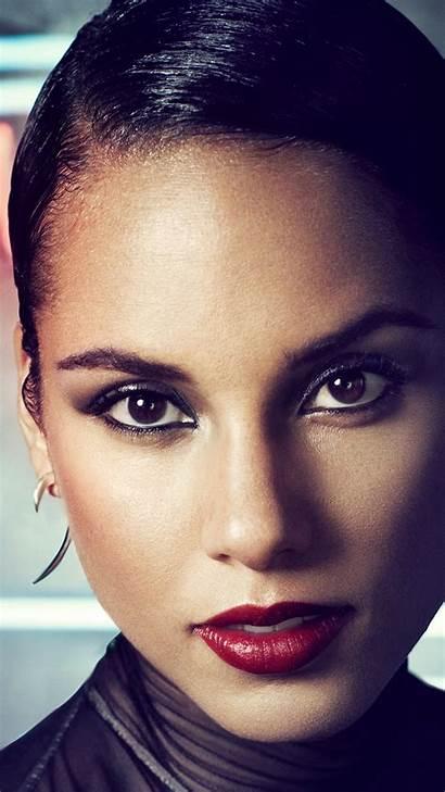 Alicia Keys Singer Songwriter Celebrity Dark Plus