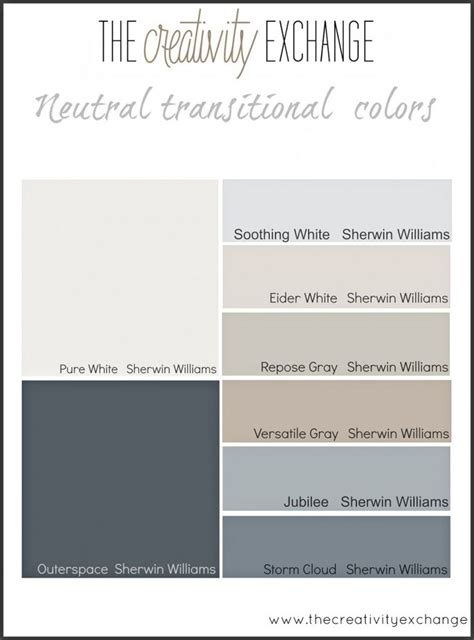 25 best ideas about sherwin williams color palette on