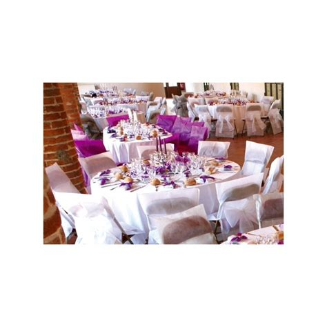 housses de chaises mariage housses de chaise intissé blanc avec noeuds deco chaises mariage fêtes