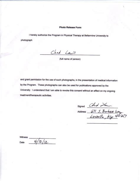 release form photography copyright release letter sle pictures to