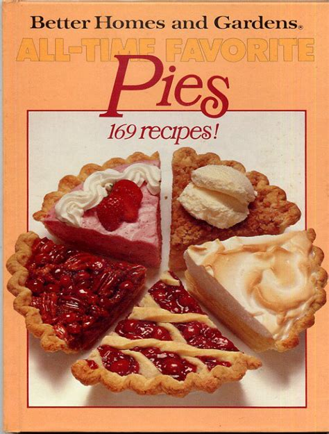 all time favorite pies better homes and gardens vintage